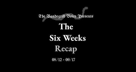 6 weeks recap