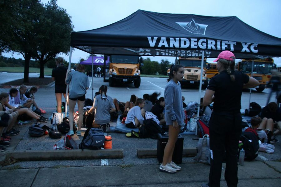 VXC preps and gets ready for the competition to begin