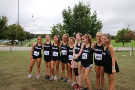 Freshman girls gets first place in their event