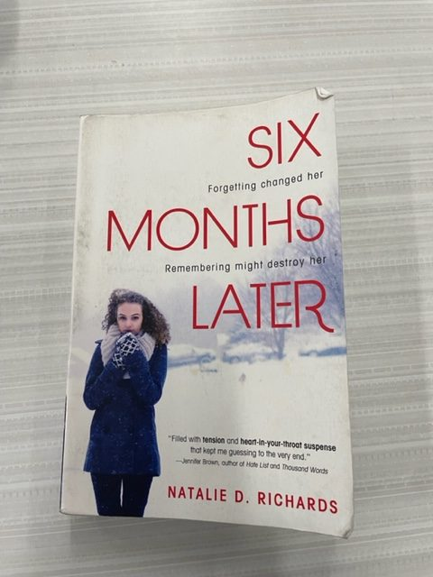 Six Months Later is such a good read, especially during your sixth period government class