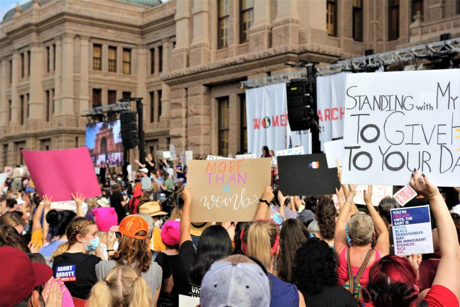 Thousands+of+Texans+travelled+to+the+Capitol+building+Saturday+after+new+restrictive+measures+were+placed+on+abortion+last+month.